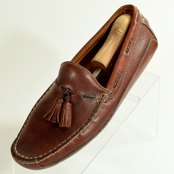 a67e5afe51e Cole Haan Other - Men s Bragano Brown Leather Tassel Loafers Italy